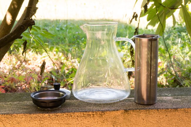 Alkani Cold Coffee Brewer setup