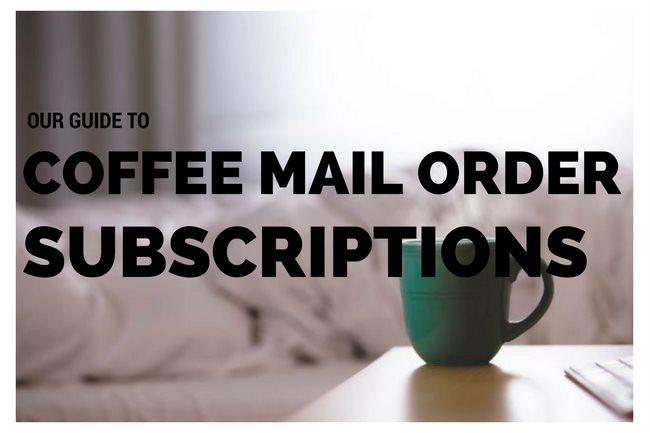 mail order coffee
