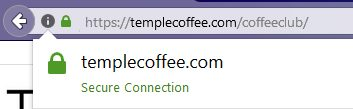 coffee secure site