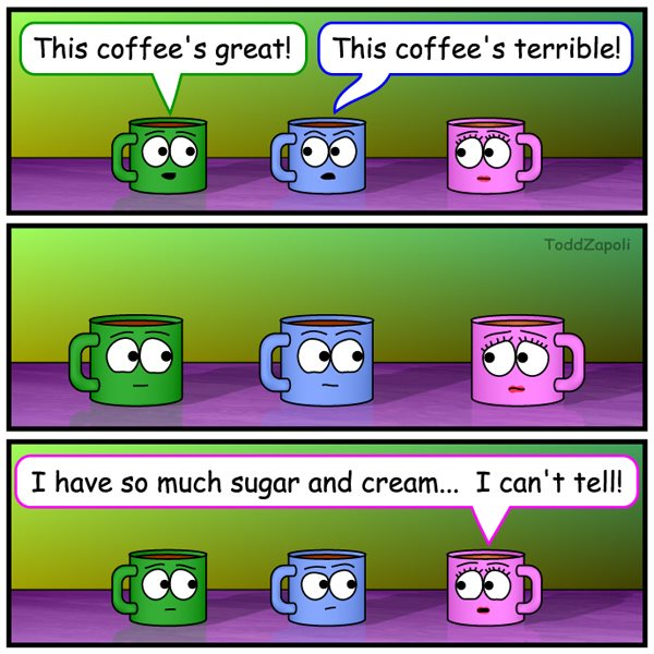 I Can't Tell (coffee comic)