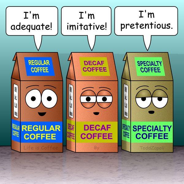 I'm Pretentious (coffee comic)