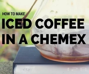 iced coffee chemex
