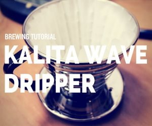 kalita Wave Coffee Tutorial