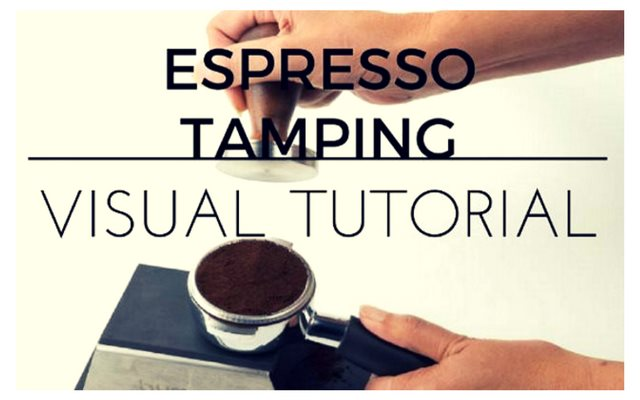 Espresso Tamping Visual Tutorial