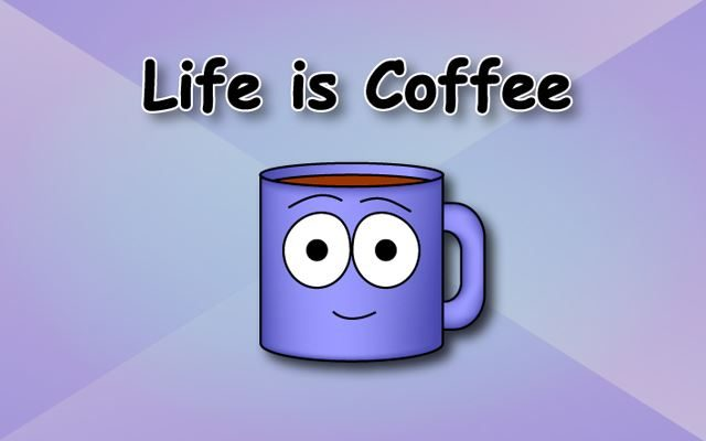 Life is Coffee Comic