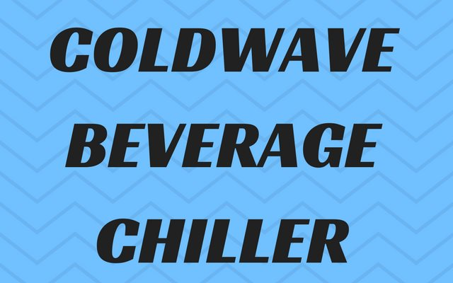 Perfect Iced Coffee in 2 Minutes with The Coldwave Beverage Chiller