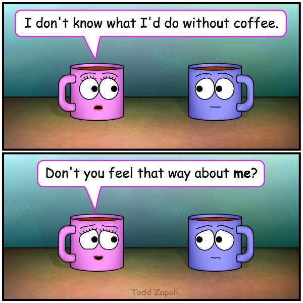Feel that Way (Coffee Comic)