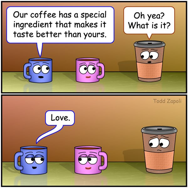 Love Ingredient (Coffee Comic)