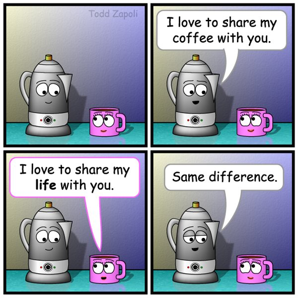Same Difference (Coffee Comic)