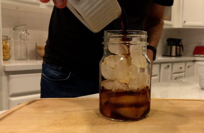 Add Coffee over Ice