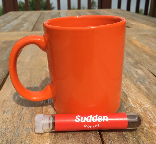 sudden instant coffee