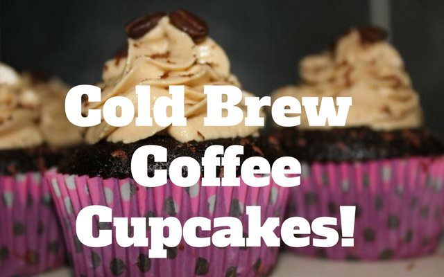 Cold Brew Coffee Cupcakes Recipe