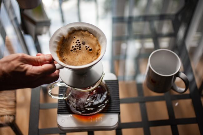 v60 coffee - the spin