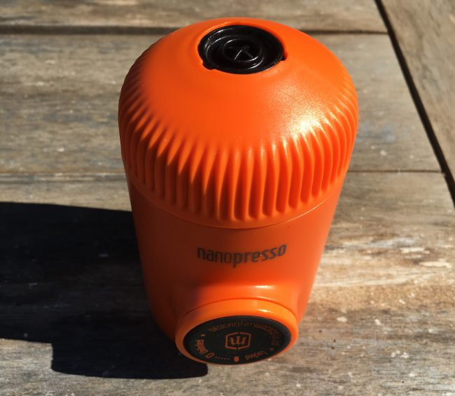 nanopresso top cover