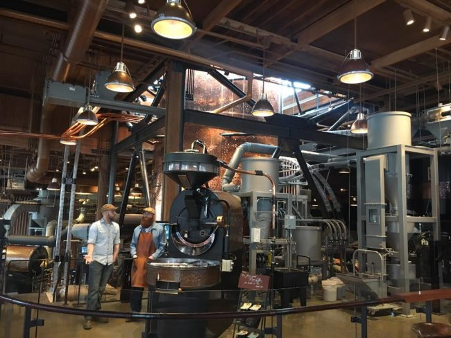 Roasting Coffee at Starbucks Reserve