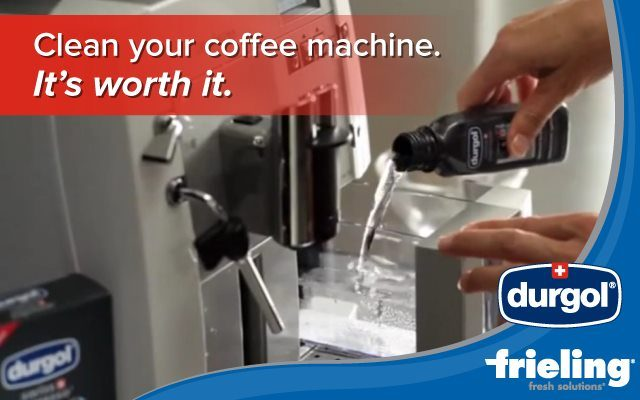 Clean your coffee machine