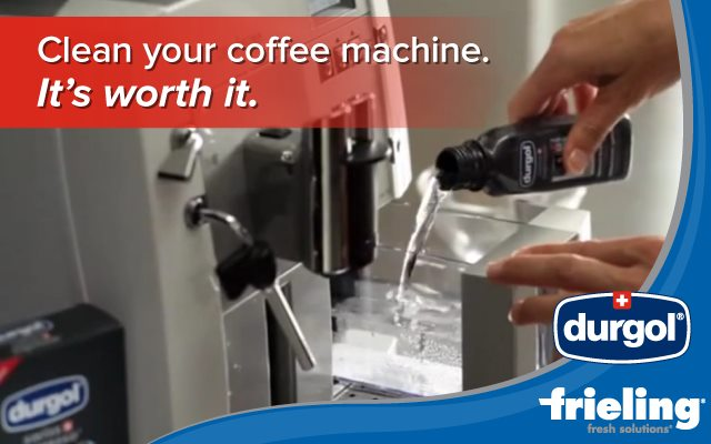 Clean Your Coffee Machine – It's worth it