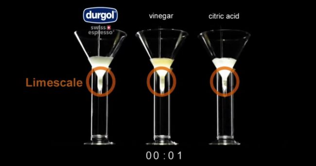 Durgol vs Vinegar vs Citric Acid 2