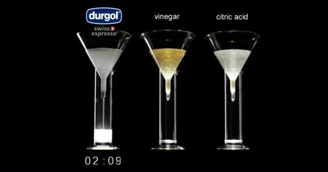 Durgol vs Vinegar vs Citric Acid 3