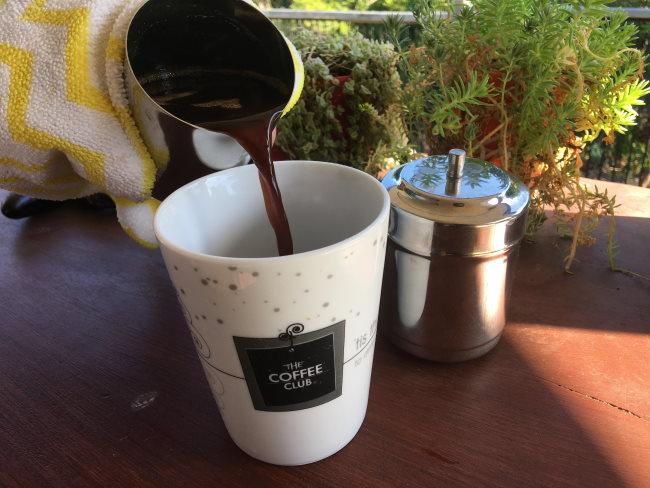 pour filter coffee