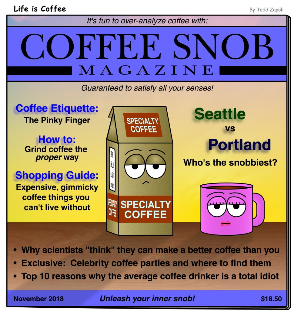 Coffee Snob Magazine