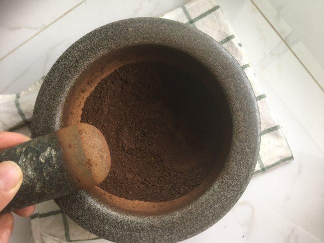 mortar pestle for coffee