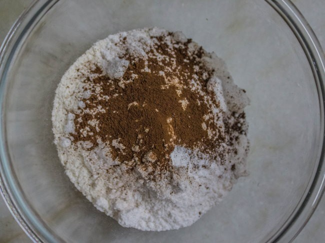 mix Coffee pancakes